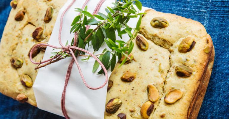 pistachio bread sweet paul